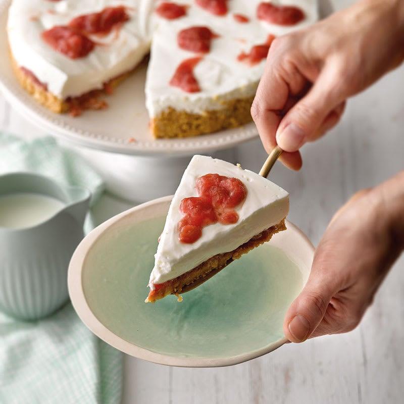 Photo de Gâteau au séré et à la rhubarbe prise par WW