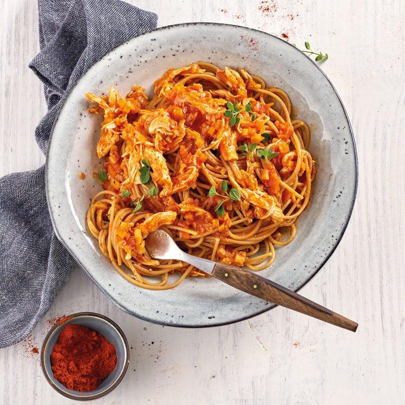 Photo de Spaghetti sauce Pulled Chicken prise par WW