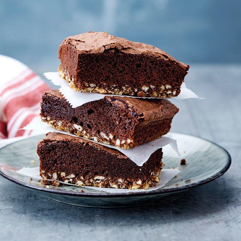 Photo de Salty Brownies aux bretzels prise par WW