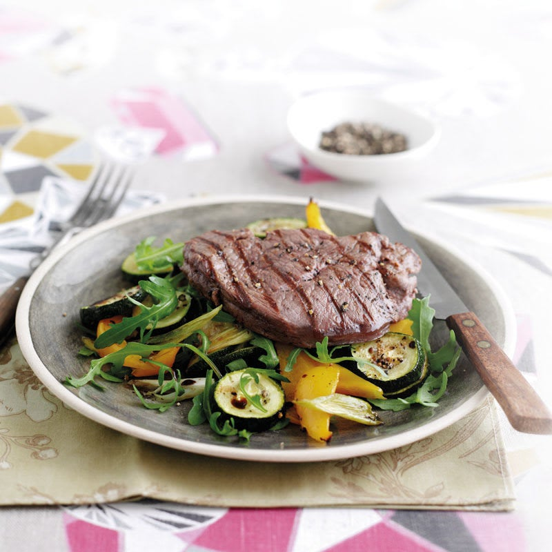 Photo de Steak de boeuf et sauté de légumes prise par WW