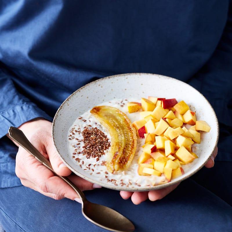 Photo de Porridge à la nectarine prise par WW