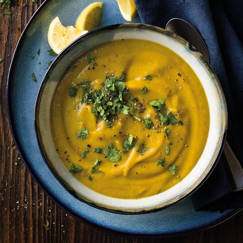 Foto Karotten-Pastinaken-Suppe mit Curry von WW