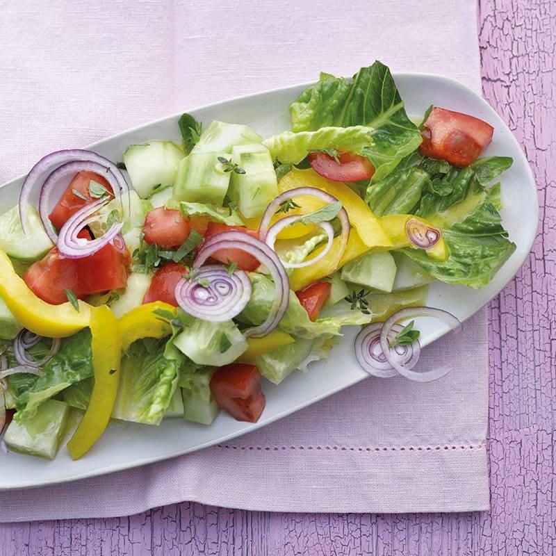 Photo de Salade mêlée aux fines herbes prise par WW