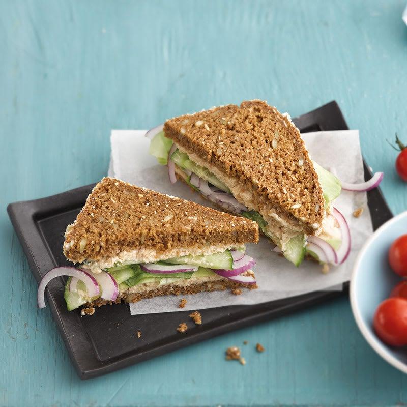 Photo de Sandwich à la crème de thon prise par WW