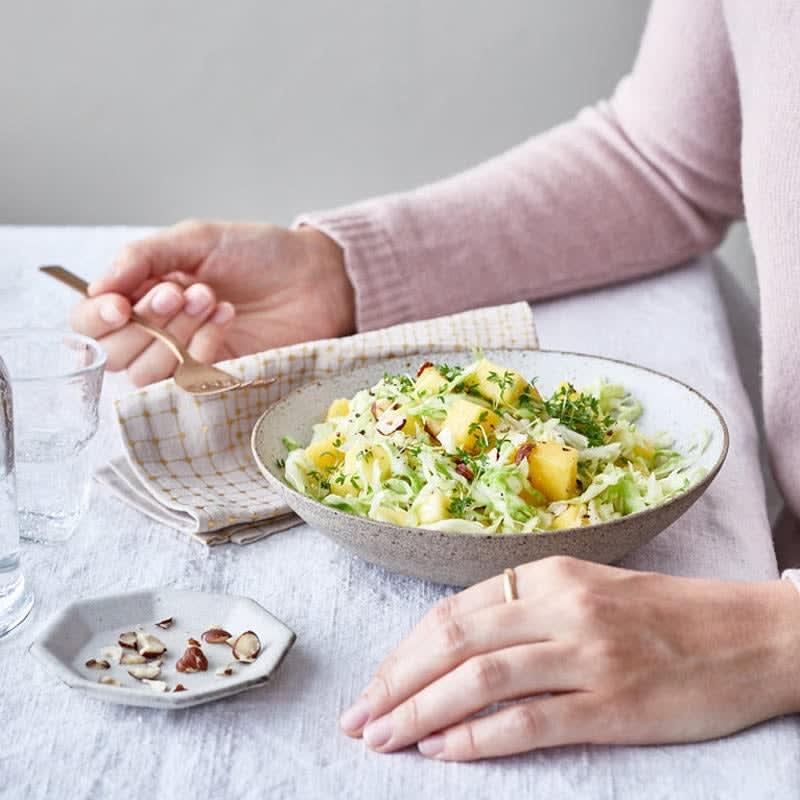 Photo de Salade de chou pointu à la mangue prise par WW
