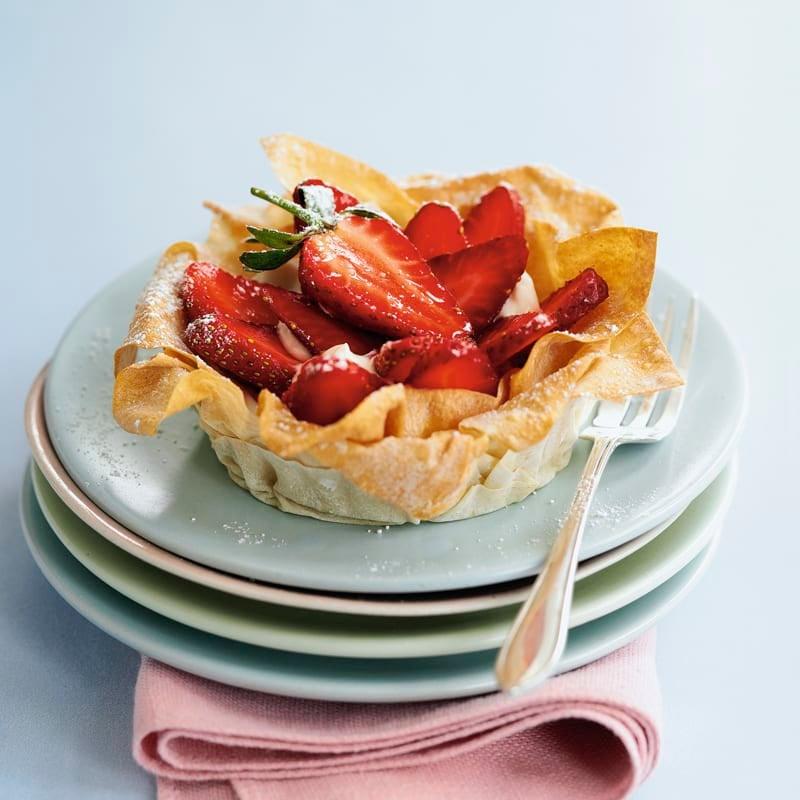 Photo de Tartelettes aux fraises prise par WW