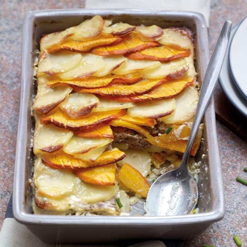 Photo de Gratin de pommes de terre et de courge prise par WW