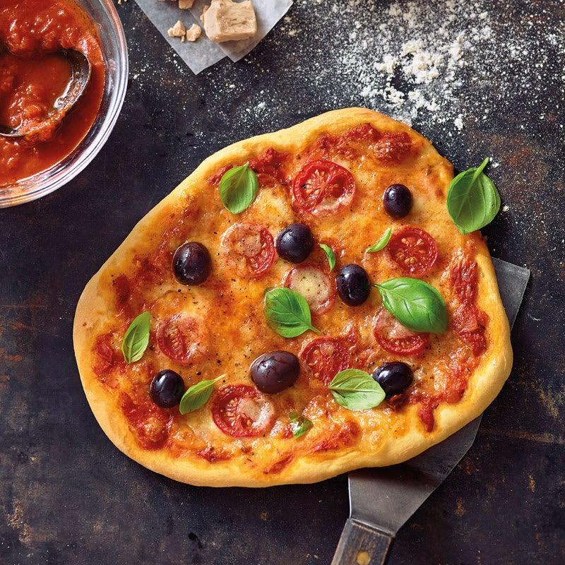 Photo de Pâte à pizza maison prise par WW