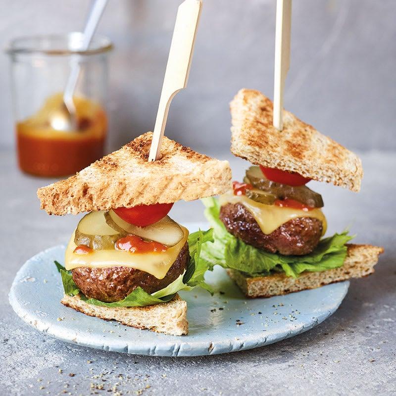 Photo de Brochettes de mini-burgers prise par WW