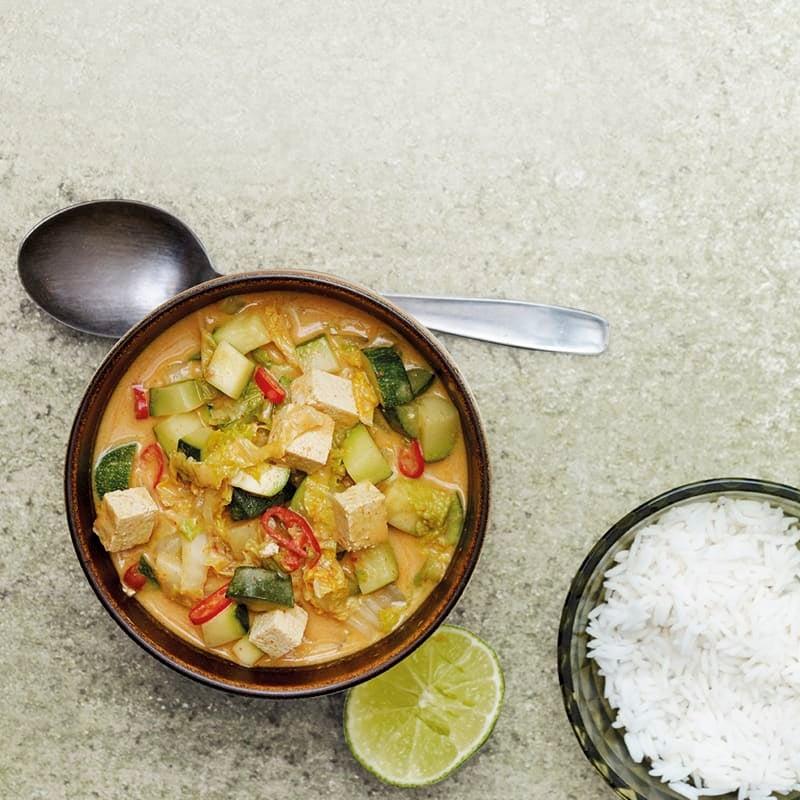 Photo de Curry thaï au tofu prise par WW