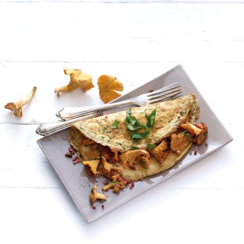 Photo de Omelette aux chanterelles prise par WW