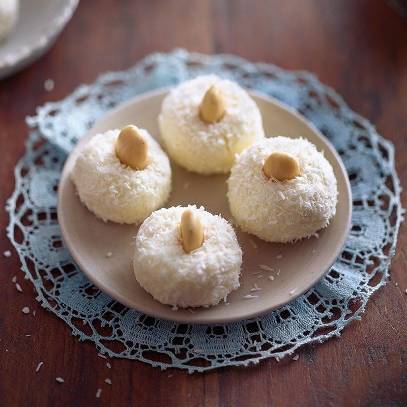 Photo de Boulettes de fromage frais à la noix de coco prise par WW