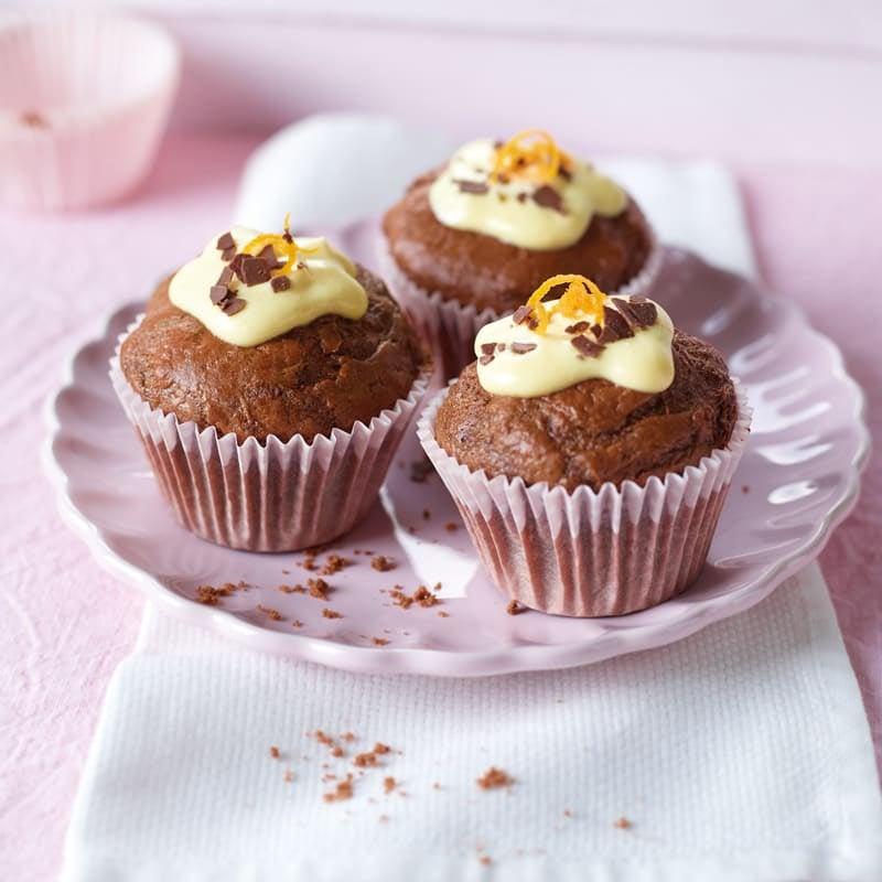 Photo de Cupcakes chocolat/orange prise par WW