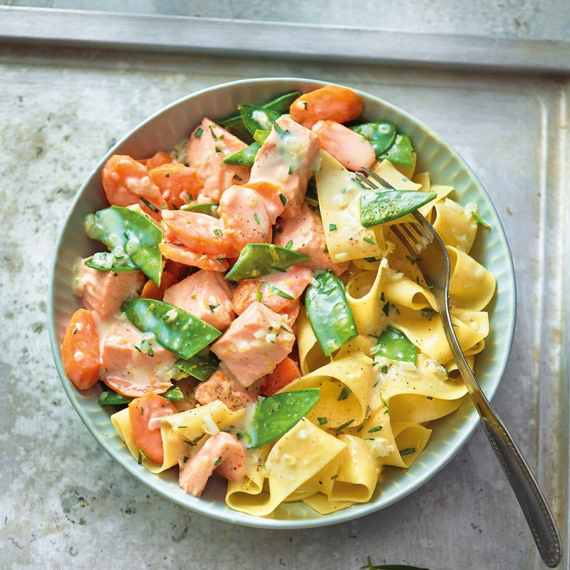 Photo de Ragoût de saumon à l'estragon prise par WW