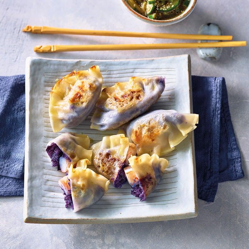 Foto Gyoza mit asiatischem Gurkensalat von WW