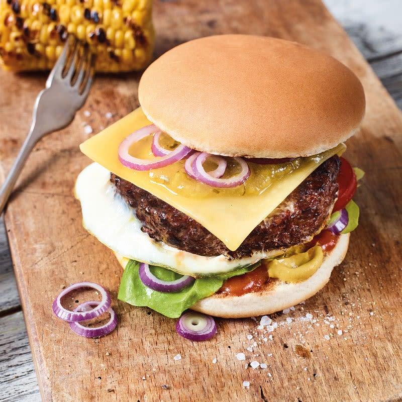 Photo de Cheeseburger aux œufs prise par WW