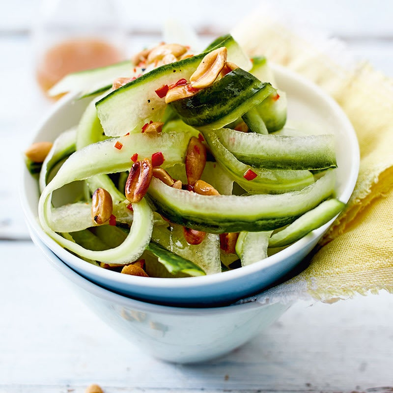 Photo de Salade de concombre asiatique aux cacahuètes prise par WW