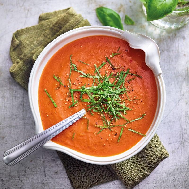 Photo de Soupe de tomates grillées prise par WW