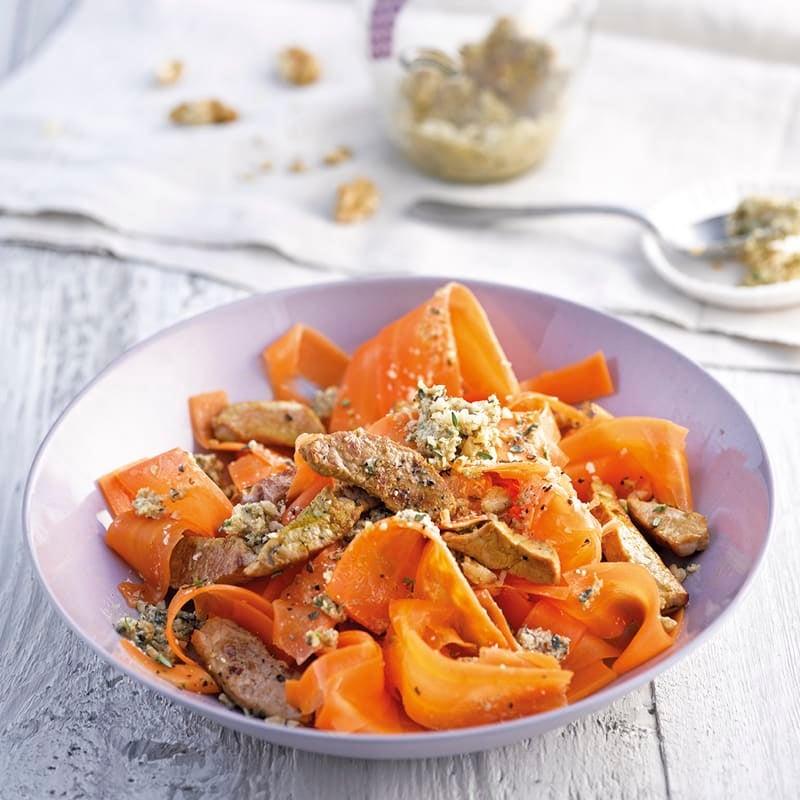 Photo de Pâtes de carottes gourmandes prise par WW