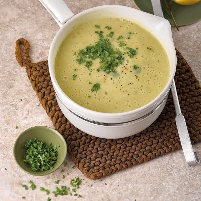 Foto Cremige Kartoffel-Lauch-Suppe von WW