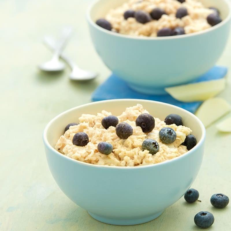 Foto Porridge mit Heidelbeeren von WW