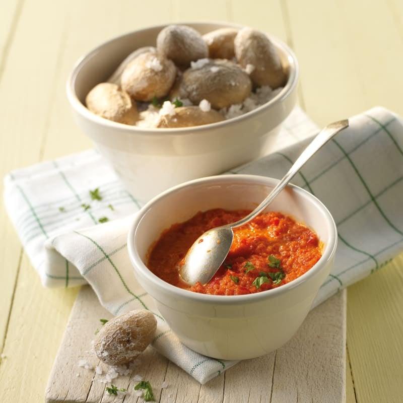 Photo de Pommes de terre ridées au mojo prise par WW