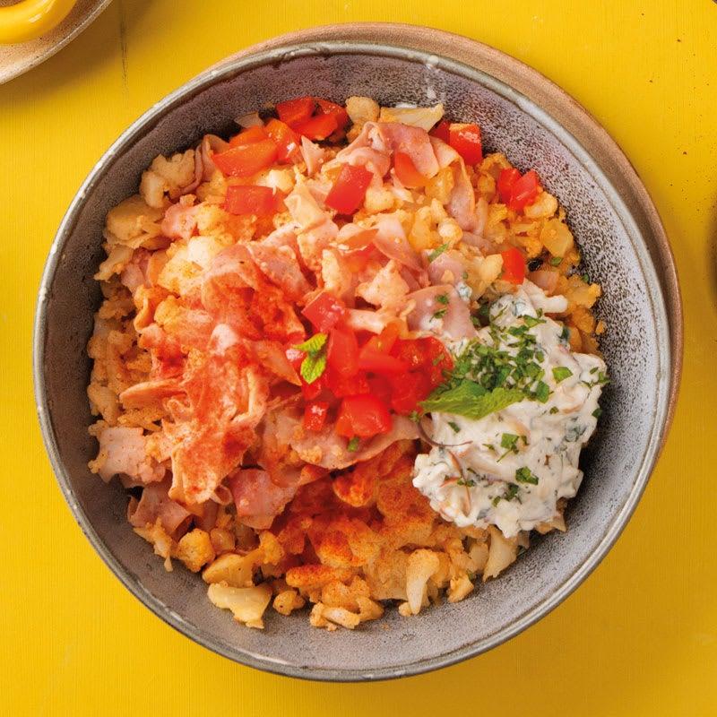 Photo de Couscous de chou-fleur avec chutney de poivron prise par WW