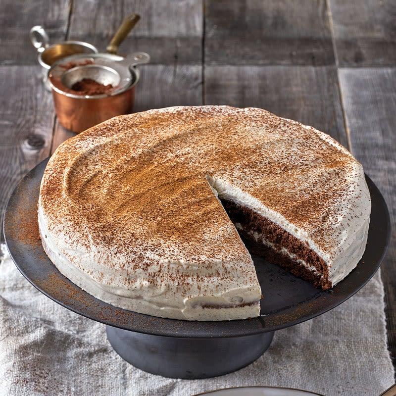 Photo de Tarte façon pain d'épices et crème à la cannelle prise par WW