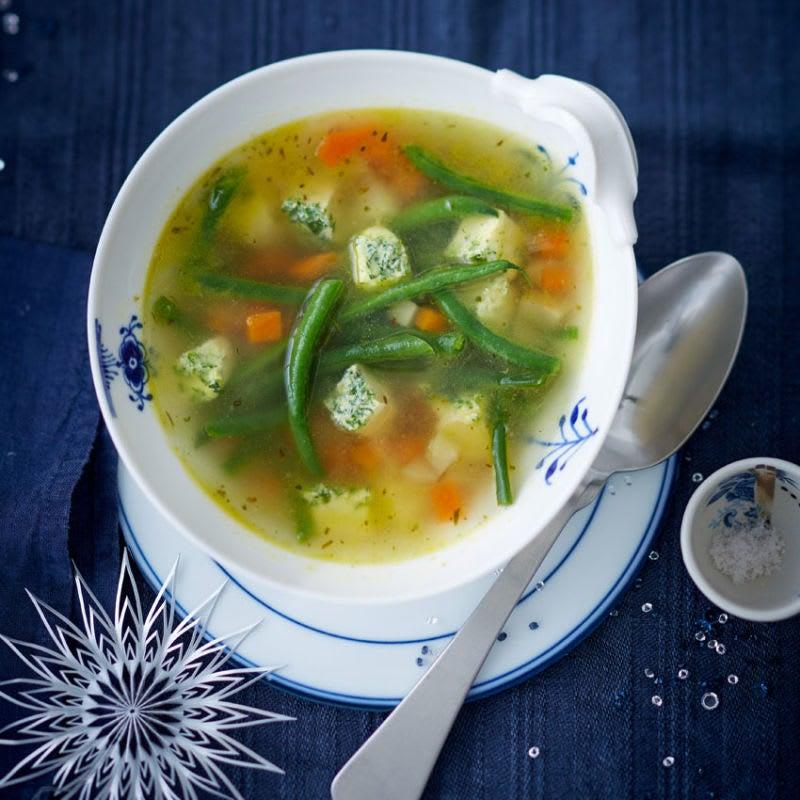Foto Gemüsesuppe mit Eierstich von WW