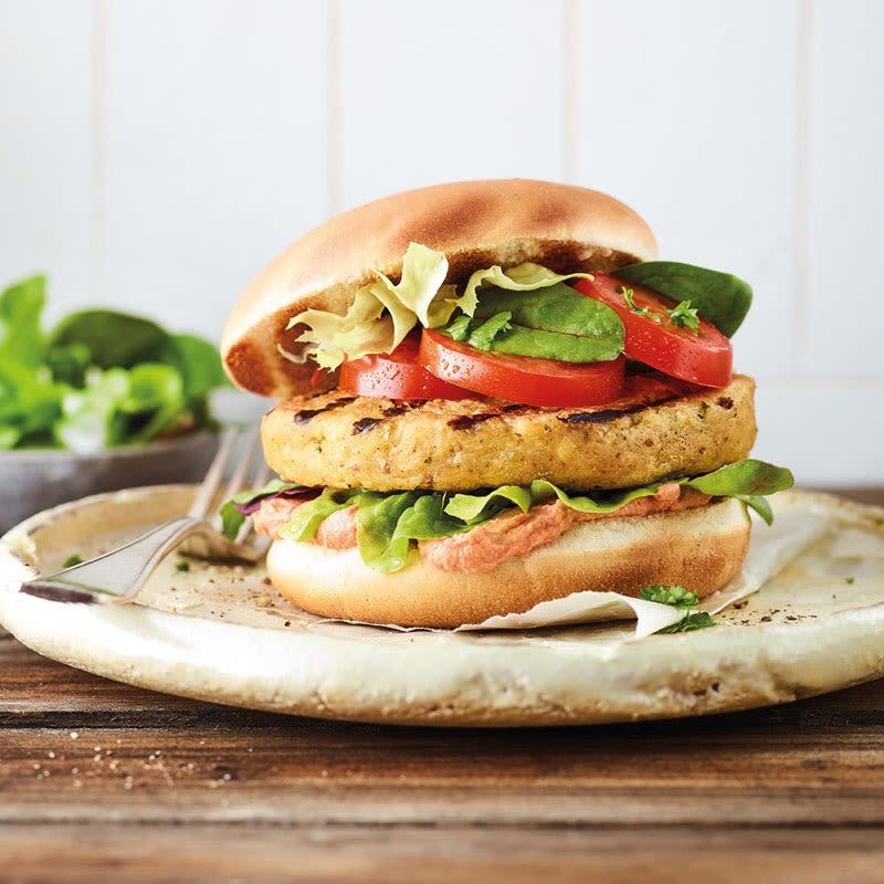 Foto Orientalischer Falafel-Burger von WW