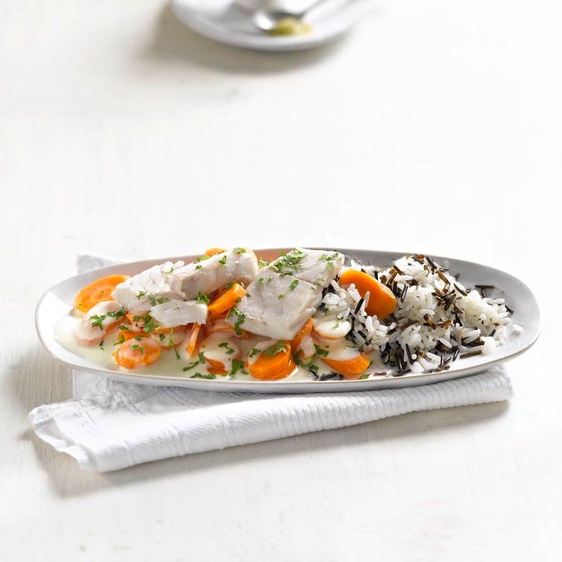 Photo de Filet de lieu aux carottes prise par WW