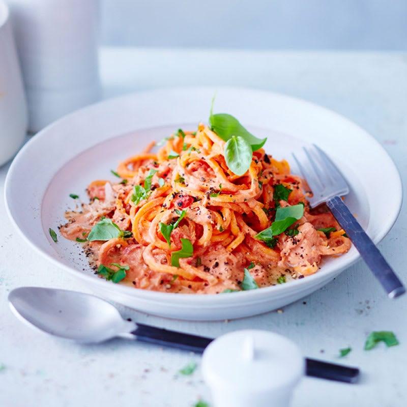 Photo de Spaghettis de carottes au thon prise par WW