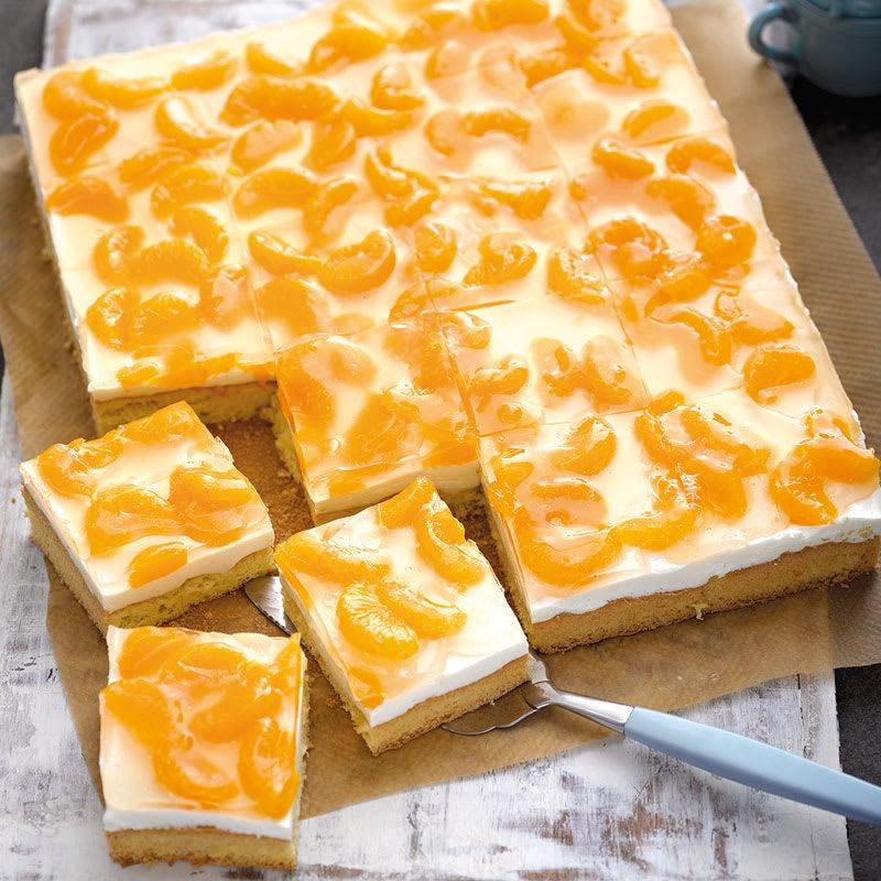 Photo de Gâteau à la crème et mandarines prise par WW