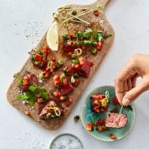 "Foto Steakwürfel ""Tapas Style"" von WW"