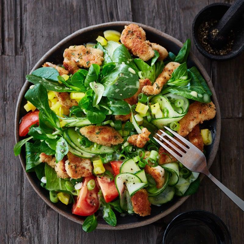 Photo de Salade à l'émincé de poulet prise par WW