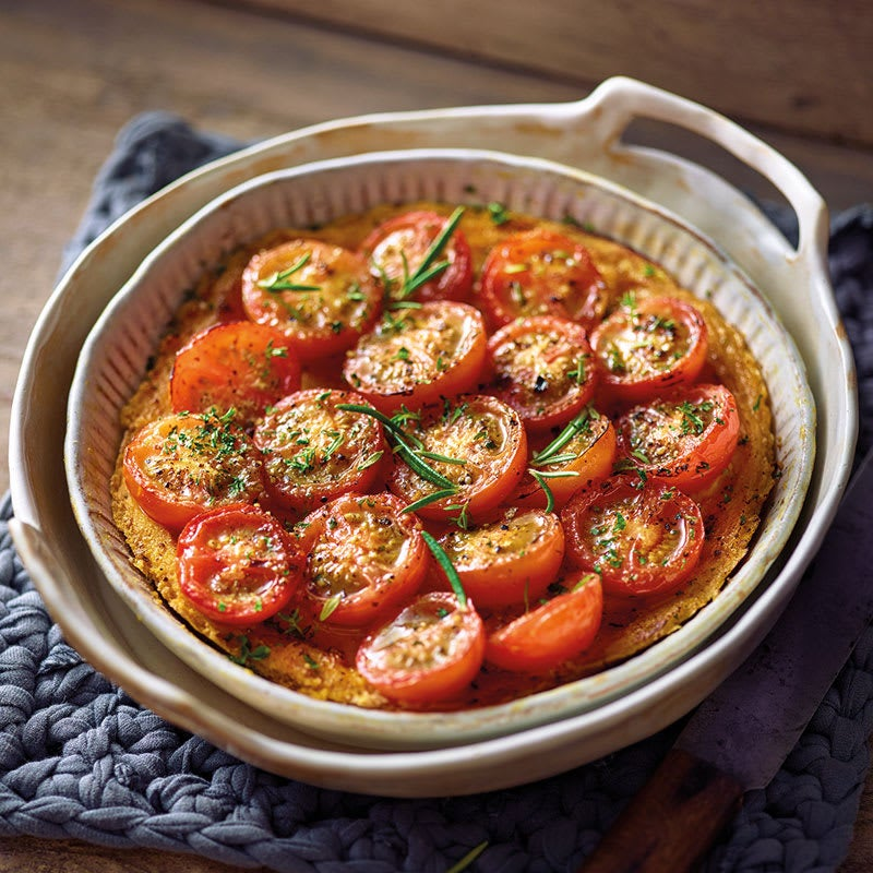 Foto Kräuter-Tomaten-Quiche mit Seidentofu von WW