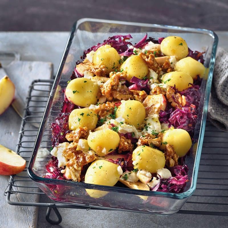 Foto Rotkohl-Kartoffel-Auflauf von WW