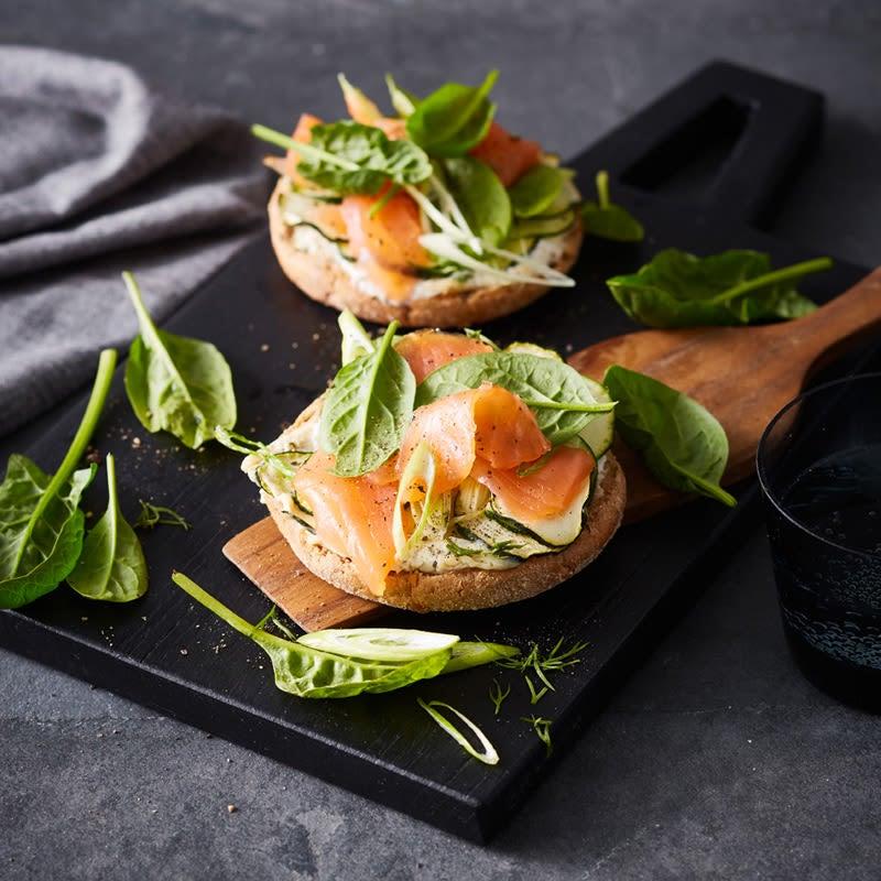 Photo de Toasts au saumon éclair prise par WW