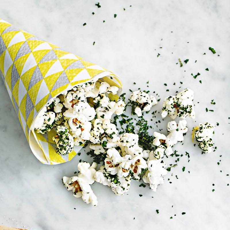Photo de Popcorn ail & fines herbes prise par WW