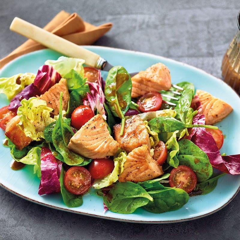 Photo de Salade au saumon prise par WW