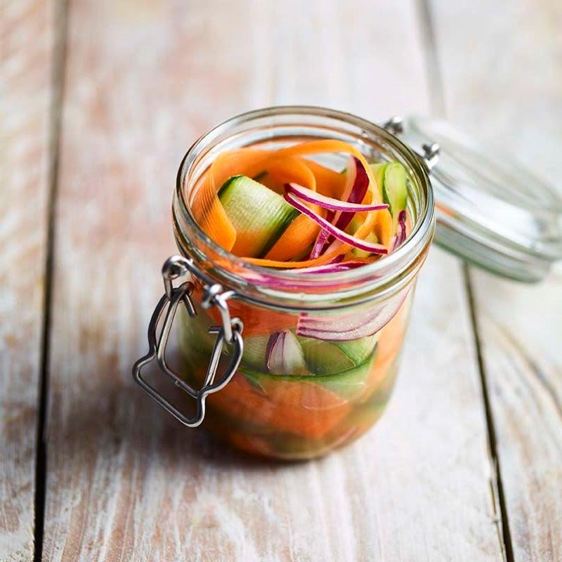 Photo de Légumes crus au vinaigre prise par WW