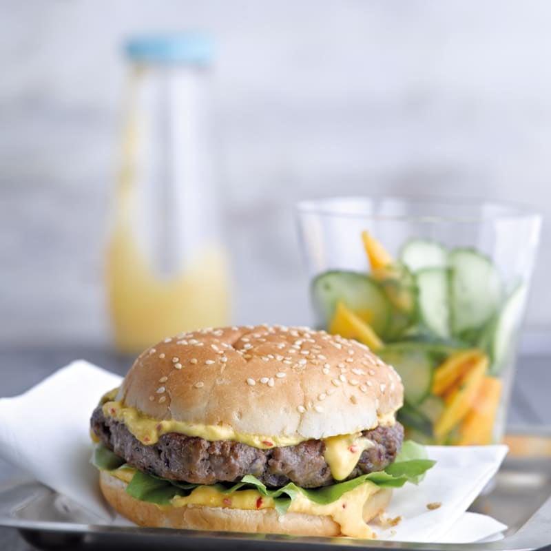 Photo de Burger épicé prise par WW