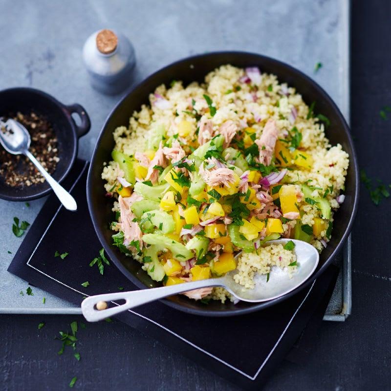 Photo de Salade de couscous au thon prise par WW
