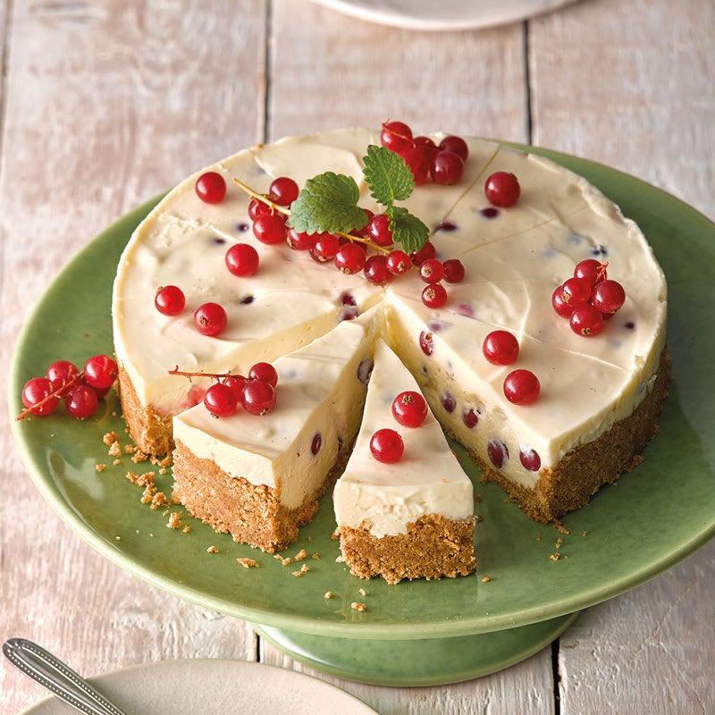 Photo de Cheesecake au chocolat blanc et aux raisinets prise par WW