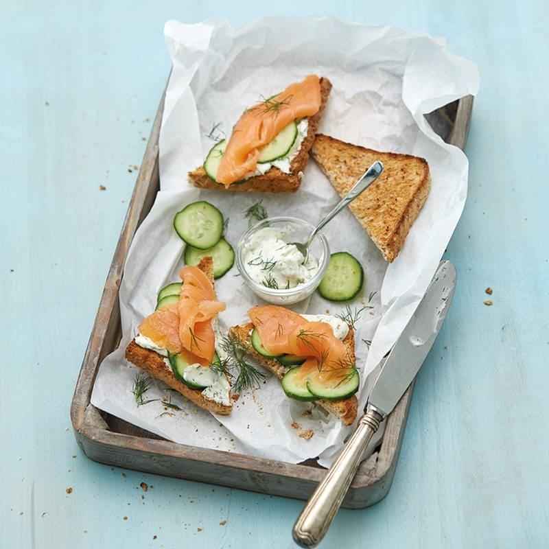 Photo de Toasts au saumon prise par WW