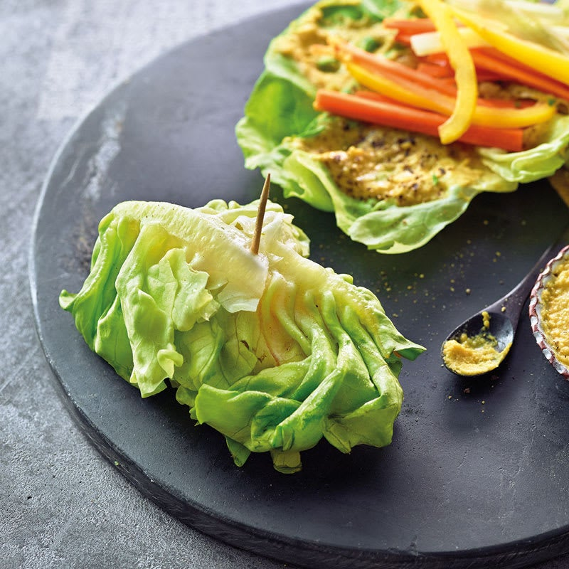 Photo de Wraps de salade aux légumes prise par WW