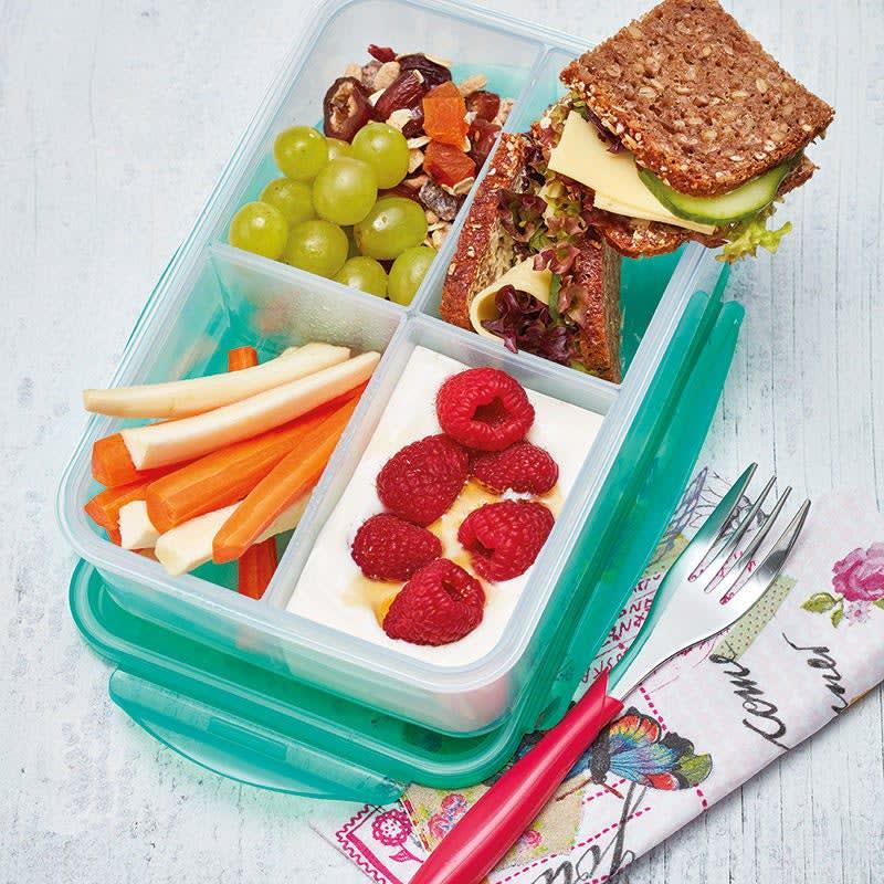 Photo de Boîte à lunch colorée prise par WW