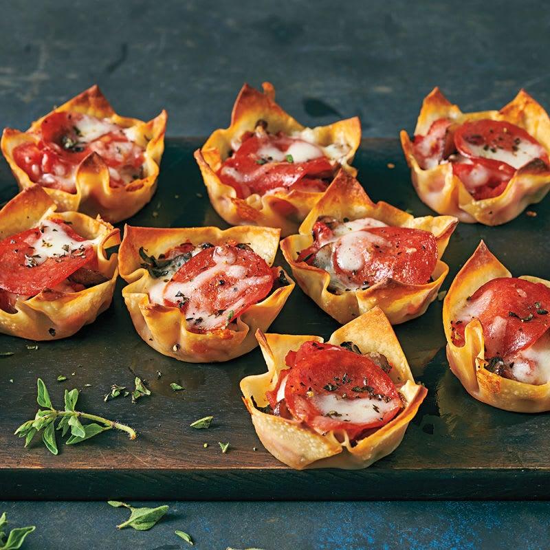 Photo de Muffins pizza salami prise par WW