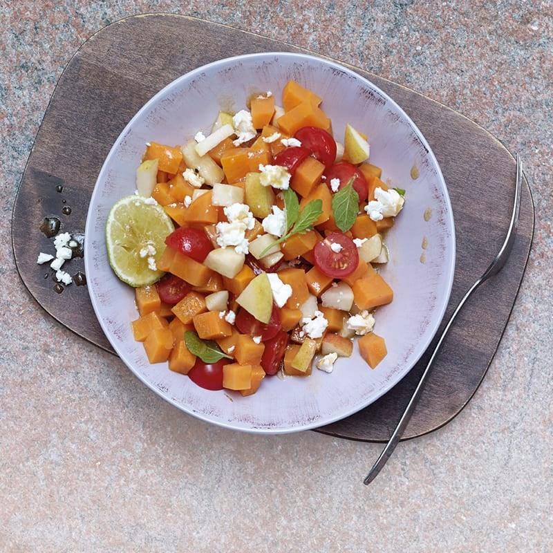 Foto Süsskartoffel-Birnen-Salat mit Feta von WW