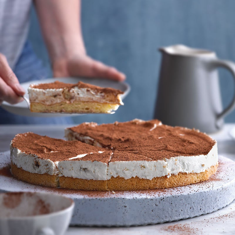 Foto Tiramisu-Torte mit Quarkcreme von WW